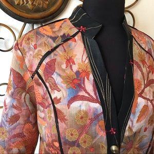 Vintage CanvasBacks Silk Wool Blazer 10